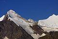 Brunegghorn 3833 m en Bishorn 4153 m.jpg