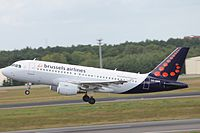 OO-SSR - A319 - Brussels Airlines