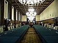 Bucuresti, Romania. PALATUL VICTORIA. (Sediul Guvernului Romaniei) 1. Dec. 2015 (interior, in asteptarea tele conferintei)(3)(B-II-m-A-19877).jpg