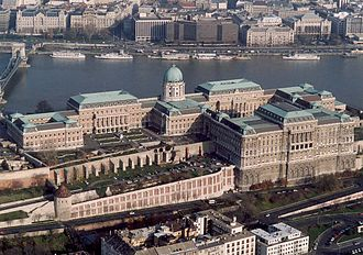Hungarian National Gallery - The gallery is located in a section of Buda Castle