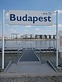 Budapest Nr. 36 ship station, Henryk Sławik quay, 2019 Lágymányos.jpg