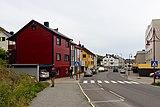 Buildings along Nordkappgata, Honningsvåg (July 2018).jpg