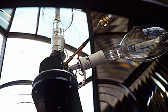 Portland Bill Lighthouse - Image: Bulbs In Portland Lighthouse BY ROBERT KILPIN