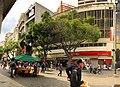 Bulevar de Sabana Grande Caracas Venezuela 2018 Edificio Banco Metropolitano y Edificio 3H 2.jpg