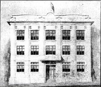 Bulletin Building, Rockhampton - Bulletin Building, 1927