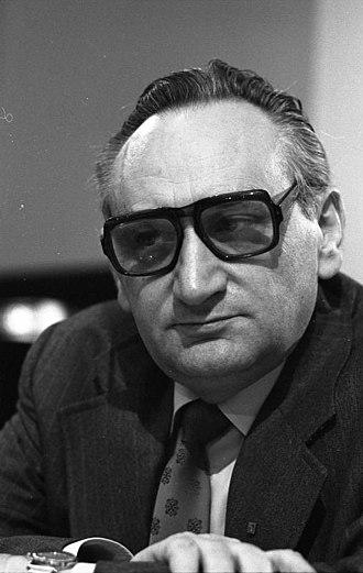 Treffurt - Egon Bahr in 1978