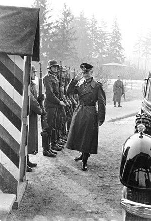 Carl-Heinrich von Stülpnagel - Stülpnagel in German-occupied Poland, 1941