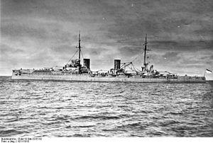 """SMS Von der Tann - Image: Bundesarchiv DVM 10 Bild 23 61 52, Großer Kreuzer """"SMS von der Tann"""""""