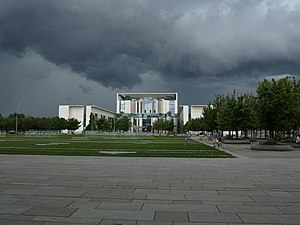 Español: Cancillería Federal de Alemania, Berl...