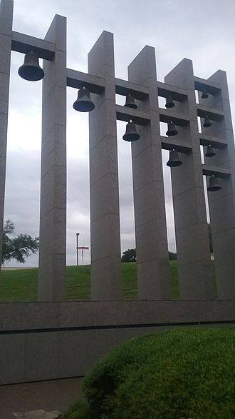 University of Texas Performing Arts Center - Burleson Bells at the Bass Concert Hall. Retired and placed at this site in 1981.