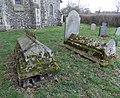 Bush End, Essex, England ~ St John Evangelist exterior ~ graveyard east 02.jpg