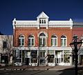 Businesses across from the county courthouse in Georgetown, Colorado LCCN2015632971.tif