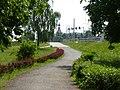 Bydgoszcz widok z parku na kościół pw św Józefa - panoramio.jpg