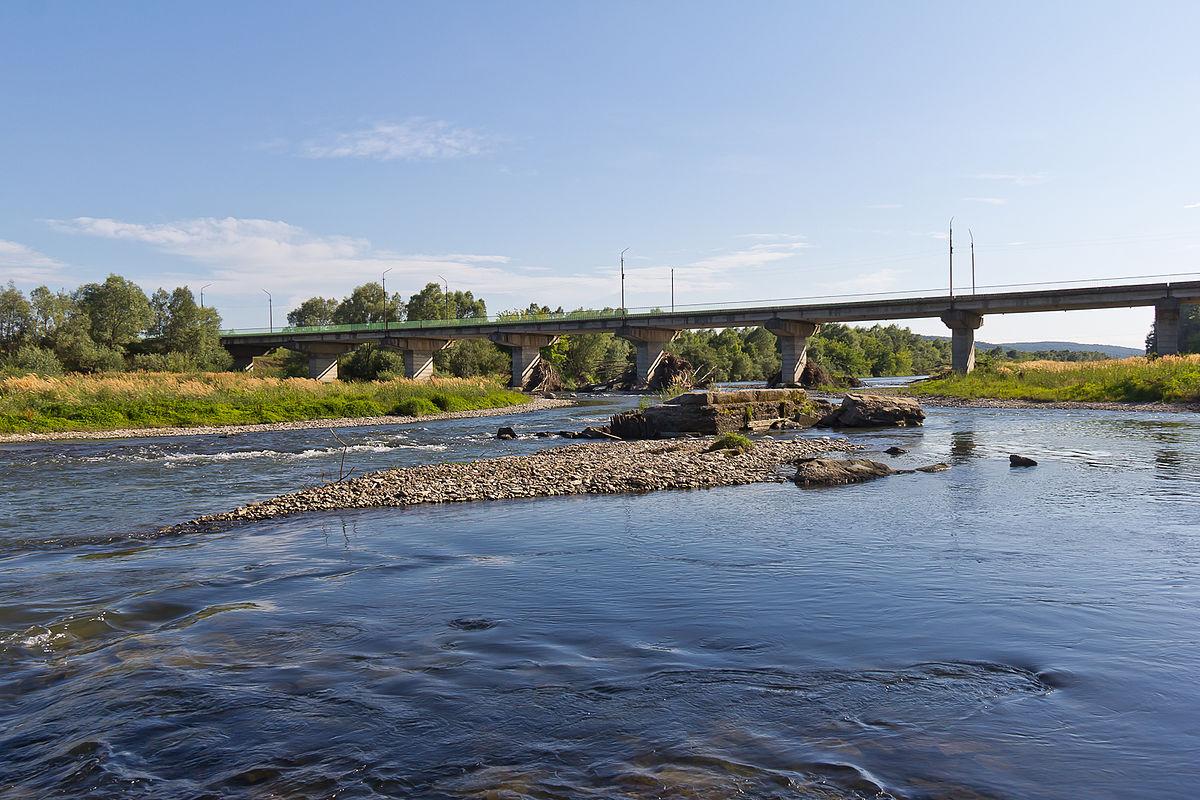 Bystrytsia River - Wikipedia