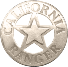 California Ranger badge.