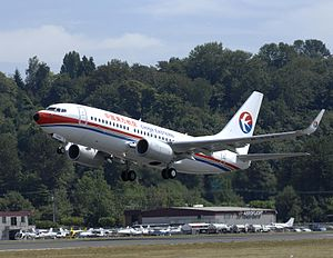 China Eastern Airlines YN022 2357 (CEA) 737-70...