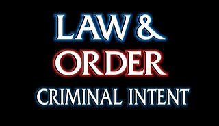 <i>Law & Order: Criminal Intent</i> US police procedural drama television series