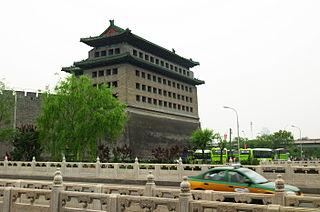 Deshengmen city gate in Beijing