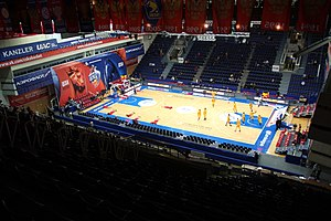 PBC CSKA Moscow - Image: CSKA Universal Sports Hall Inside @ CSKA Limoges 18 December 2014 2
