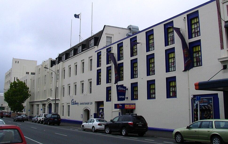 Cadbury buildings, Dunedin, NZ