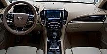 Cadillac ATS 2.0 Turbo AWD Premium – Innenraum, 16. Oktober 2015, Düsseldorf.jpg