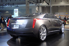 The Cadillac Converj Concept Viewed From Rear