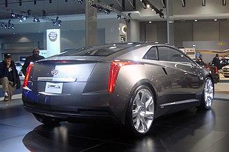 Cadillac ELR - Image: Cadillac Converj Concept WAS 2010 8880