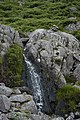 Cairn and waterfall - geograph.org.uk - 888608.jpg