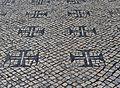 Calçada em Tomar- Cruz da ordem de Cristo.jpg