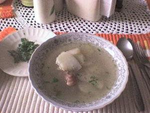 A caldo de costilla is better if served hot an...