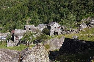 Cevio - Calnegia village