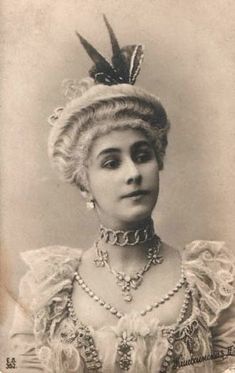 Mathilde Kschessinska - Mathilde Kschessinskaya costumed for the title role in Petipa's La Camargo. St. Petersburg, c. 1902