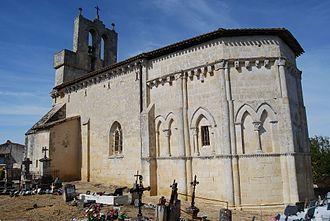 Camarsac - Image: Camarsac Eglise St Saturnin 2