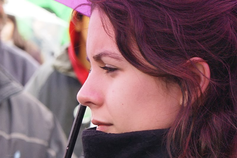 Camila Vallejo, leader of the student movement