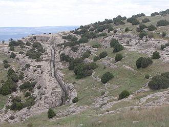 Sierra del Mugrón - Northern area close to Castellar de Meca.