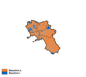 Campania regional election, 2005 - Image: Campania 2005 Coalizioni