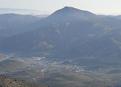 Skyline of Campillo de Arenas, Spain