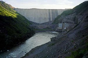 Campos Novos Dam - Image: Campos Novos Dam Empty
