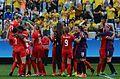 Canadá vence o Brasil no futebol feminino, na Rio 2016 (28807776610).jpg