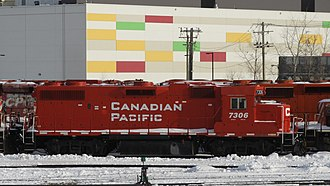 Delaware and Hudson Railway - Image: Canadian Pacific 7306