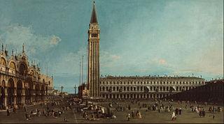 La Place Saint-Marc, Venise