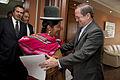 Canciller Ricardo Patiño recibió copia de Cartas Credenciales de Bolivia (8485231651).jpg