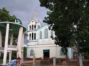 Candijay, Bohol - Image: Candijaychurch