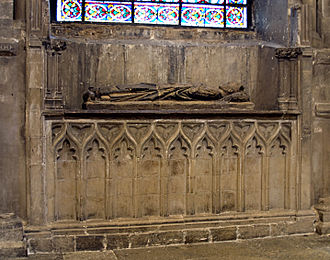 Walter Reynolds - Tomb of Reynolds in Canterbury Cathedral