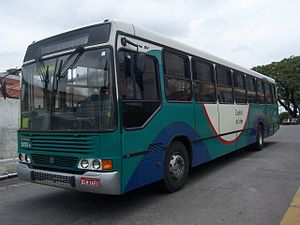 Scania 4-series (bus) - Marcopolo Torino GV bodied Scania F94HB in Brazil
