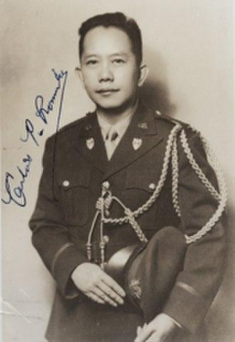 Carlos P. Romulo - Image: Carlos Romulo