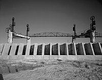 Carlsbad Irrigation District, Avalon Dam, On Pecos River, 4 miles North of Carlsbad, Carlsbad vicinity (Eddy County, New Mexico).jpg