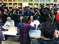 Carme Forcadell voting, 9N2014 01.JPG