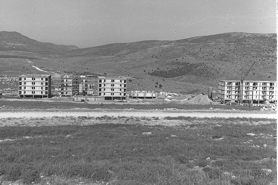 Carmiel first housing units 1964