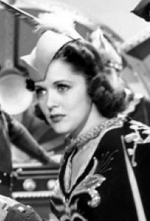 Carol Hughes (actress) - Hughes as Dale Arden in Flash Gordon Conquers the Universe, 1940